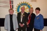 Rotary district 1150 governor visits Barry Rotary Club